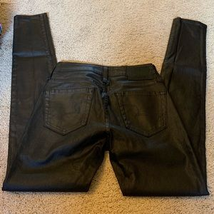 Big Star faux leather jeans